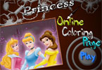 Оцвети Принцесите на Дисни