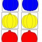 Да научим основните цветове – син, жълт и зелен.