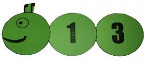Гъсеница от двуцифрено число
