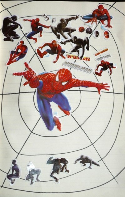 Collage_spiderman