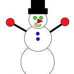 Апликация: Снежен човек