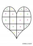 сърце с цветове