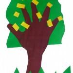 Арт занимание: пролетно дърво
