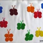 Апликация: Цветни пеперуди