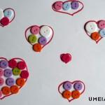 Колко копчета се събират в едно сърце
