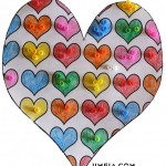 Сърце с мъниста