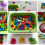 Развиващи игри със строителни блокчета
