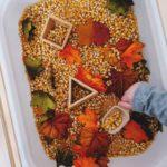 Сетивна кутия с тематика есен