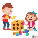 Сортиране за деца от 2 до 4 години