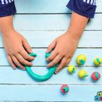 Гимнастика за пръстчета с пластилин
